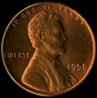 LINCOLN CENT 1958-P CERTIFICATION QUALITY? SOME OF THE BEST ON EBAY  1378