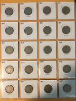 LIBERTY HEAD NICKEL COIN LOT OF 32 1904-1912