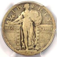 1921 STANDING LIBERTY QUARTER 25C - PCGS VG8 -  DATE - CERTIFIED COIN