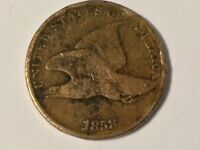 1858 FLYING EAGLE CENT ,,  COIN SHIPS FREE        FE02