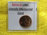 2014- D LINCOLN CENT  FREE GIFT WITH YOUR 1 UNCIRC. MEMORIAL LINCOLN PENNY