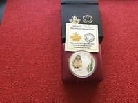 2015 $20 SILVER COIN BABY ANIMALS : BURROWING OWL