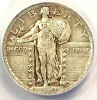 1921 STANDING LIBERTY QUARTER 25C - ANACS F15 DETAILS -  CERTIFIED COIN