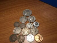OLD US SILVER COINS MIXED LOT