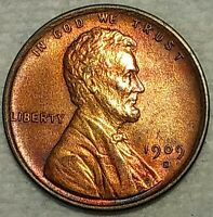 BRILLIANT UNCIRCULATED 1909 S VDB LINCOLN CENT  GORGEOUS KEY
