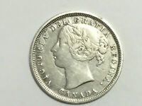 1858 20 CENTS CANADA THE COIN YOU SEE IS THE COIN YOU WILL R