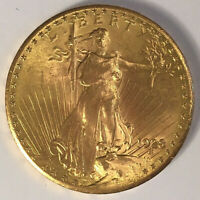 1928 ST GAUDENS $20 GOLD DOUBLE EAGLE  UNGRADED MS  FREE SHI
