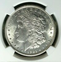 1921 VAM 41A NGC MINT STATE 62 MORGAN SILVER DOLLARGENE L HENRY LEGACY COLLECTION