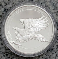 AUSTRALIAN WEDGE TAILED EAGLE 2014 1OZ SILVER PROOF COIN