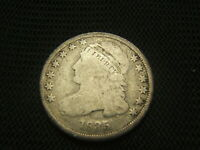 1835 CAPPED BUST DIME SILVER EACH ADDITIONAL COIN SHIPS FREE EARLY TYPE COIN