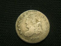 1834 CAPPED BUST HALF DIME  PRE CIVIL WAR SILVER
