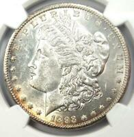 1893-CC MORGAN SILVER DOLLAR $1 - CERTIFIED NGC UNCIRCULATED DETAIL UNC MS