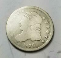 1836 CAPPED BUST HALF DIME 3