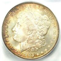 1903-O MORGAN SILVER DOLLAR $1 - CERTIFIED ICG MINT STATE 67 -  IN MINT STATE 67 - $4190 VALUE