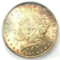 1880-P 1880 MORGAN SILVER DOLLAR $1 - ICG MINT STATE 65 -  IN MINT STATE 65 - $660 VALUE