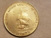 1970 CAPTAIN COOK BICENTENARY MEDAL STATE SAVINGS BANK OF VICTORIA SHIP TOKEN