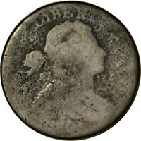 1801 1C DRAPED BUST LARGE CENT POOR  K7581