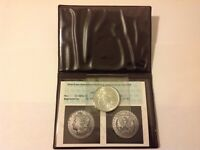 ANACS PHOTO CERTIFIED 1886 MORGAN SILVER DOLLAR MINT STATE 63/65 IN PLASTIC WALLET .