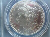1900-S MORGAN SILVER DOLLAR ANACS AU-55 DETAILS SCRATCHED - PROBABLE VAM-20