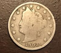 1903 LIBERTY HEAD V NICKEL