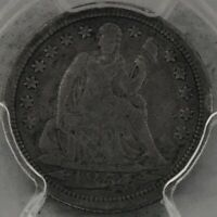 1854 O SEATED LIBERTY DIME SHATTERED OBVERSE TOP 10038 PCGS VG8 CAC
