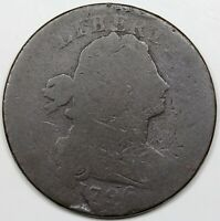 1796 DRAPED BUST LARGE CENT LIHERTY AG