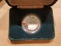 1534   1984 JACQUES CARTIER CANADIAN NICKEL DOLLAR PROOF COIN IN BOX CANADA $1