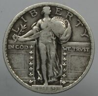 1919 STANDING LIBERTY QUARTER NICE CIRCULATED GRADE COIN EARLY DATE