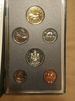 1988 CANADIAN PROOF SET 6 COINS CANADA CENT THROUGH $1 LOONIE