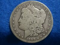 1899 S  MORGAN SILVER DOLLAR,LOT A-6