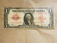 1923 $1 RED SEAL UNITED STATES NOTE SPEELMAN WHITE LARGE SIZE NOTE FR 240