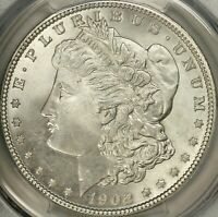 1902 MORGAN DOLLAR PCGS MINT STATE 67