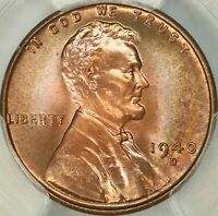 1940-D LINCOLN CENT PCGS MINT STATE 67RD