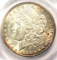 1899-S MORGAN SILVER DOLLAR $1 - ANACS AU55 -  IN AU55 - NEAR UNC/MS