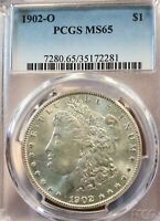 1902-O USA MORGAN PCGS MINT STATE 65 BUT IT NOW BEAUTY