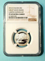 2014 S SILVER PROOF GREAT SAND DUNES   LIMITED EDITION SET