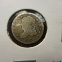 1830 CAPPED BUST HALF DIME