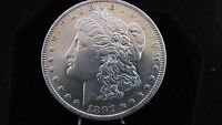 1897 MORGAN US SILVER DOLLAR UNC ESTATE MD124