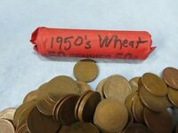 1950'S WHEAT CENT ROLL