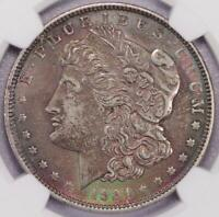 1921 MORGAN SILVER DOLLAR NGC AU DETAILS GREAT TONING - 2006-28