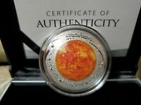 2019 THE SUN EARTH AND BEYOND 3RD COIN IN SERIES 1 OZ SILVER PROOF AUSTRALIA