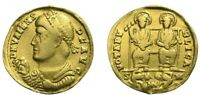 VALENS SOLIDUS  364 378  ROMAN IMPERIAL GOLD COINS. S M EXTR