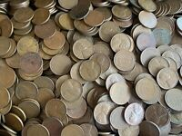 LOT OF 1500 WHEAT PENNIES - 1920'S-1950'S - SHIPS FREE USA
