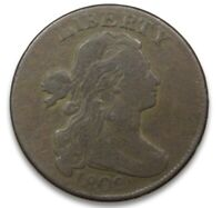 1802 DRAPED BUST LARGE CENT NICE MID GRADE S 229 COLLECTIBLE COIN