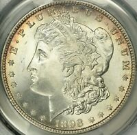 1898 MORGAN DOLLAR PCGS MINT STATE 67 CAC