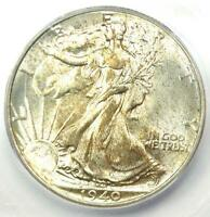 1940 WALKING LIBERTY HALF DOLLAR 50C COIN - CERTIFIED ICG MINT STATE 67 - $600 VALUE