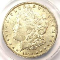1894-O MORGAN SILVER DOLLAR $1 - CERTIFIED ANACS AU53 -  DATE - NEAR UNC/MS