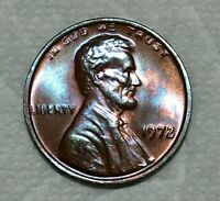 GEM UNCIRCULATED 1972 P DOUBLE DIE LINCOLN CENT  GORGEOUSLY