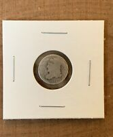 1837 CAPPED BUST HALF DIME-90 SILVER-EARLY AMERICAN HISTORIC COIN-