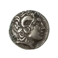 ANCIENT ALEXANDER III THE GREAT GREEK COIN 336 323 BC SILVER PLATED COLLECTION